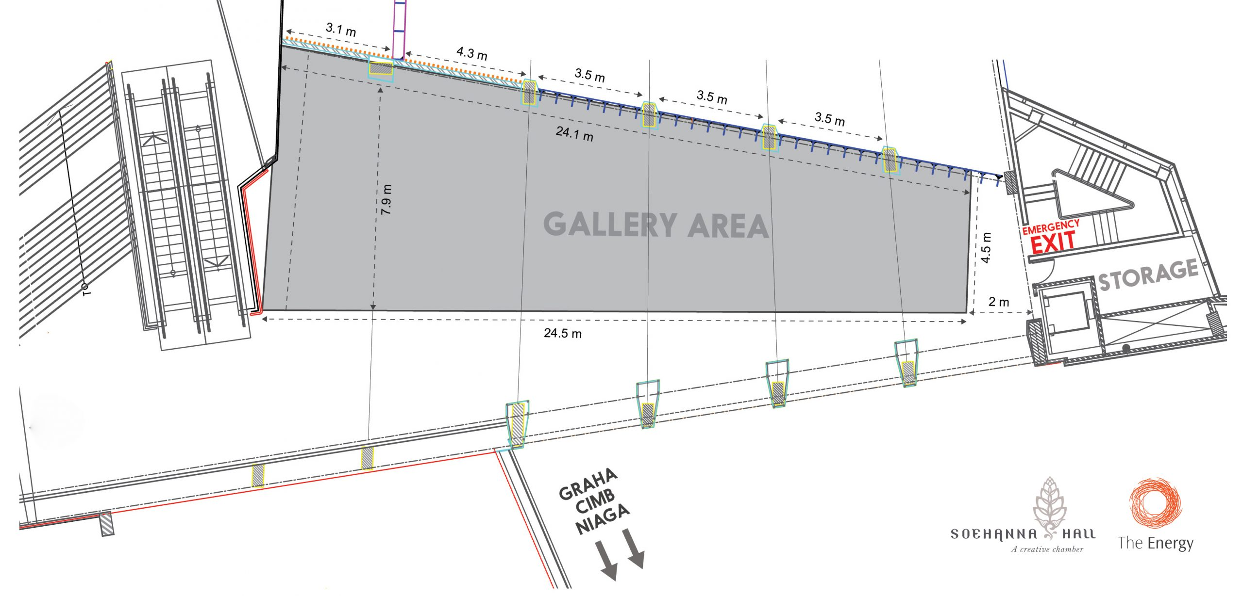 Gallery Area Layout
